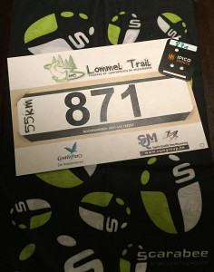 Lommel Trail Race Bib